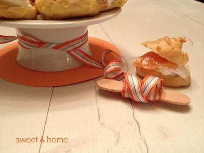 pastelitos choux